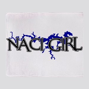 NACI GIRL [3] Throw Blanket